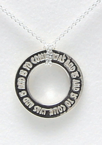 Was And Is And Is to Come Necklace