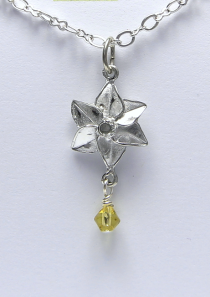 Daffodil Necklace March Flower