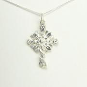 Follow the Son Sunflower Cross Necklace - Lucina K.