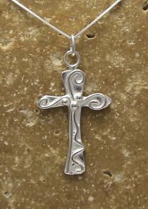 Walk to Emmaus Cross Necklace