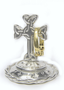Celtic Cross Ring Stand