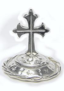 Roman Cross Ring Stand