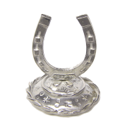 Horseshoe Ring Holder handcrafted in Pewter