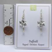 Daffodil Earrings March Flower