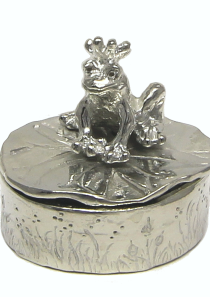 Frog Prince Tooth Fairy Treasure Box