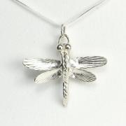 Samurai Dragonfly Necklace