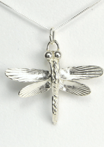 Samurai Dragonfly Necklace