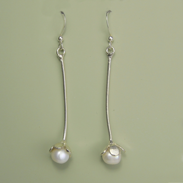 Long Bud Earrings - Lucina K.