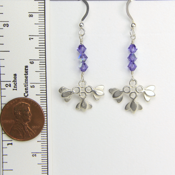 Lotus Flower Small Earrings Hope and Serenity