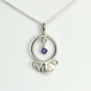 Lotus Flower Necklace Hope and Serenity