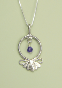Lotus Flower Necklace Hope Serenity