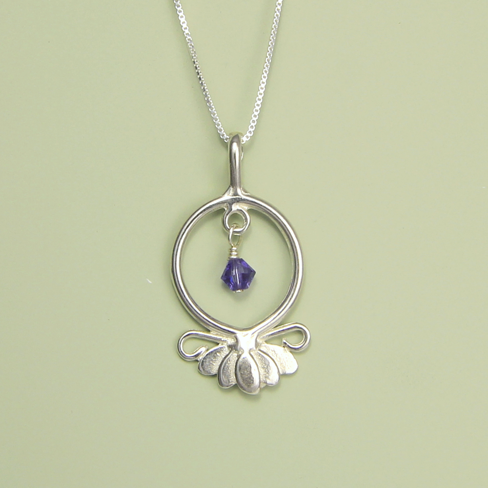 Lucina k lotus flower necklace hope serenity lotus flower necklace hope and serenity izmirmasajfo