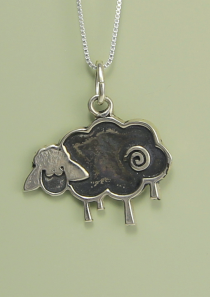 Black Sheep Necklace