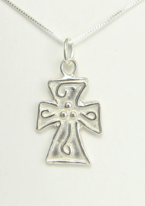 Filled with the Spirit Cross Necklace