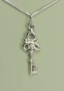 Small Key to the Kingdom Necklace