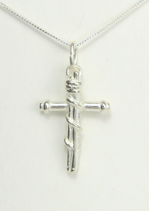 Mission Cross Necklace to Serve and Witness