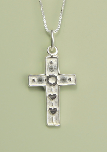 Wonderfully Made Cross Necklace