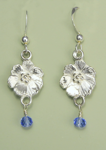 Cosmos Earrings October Flower