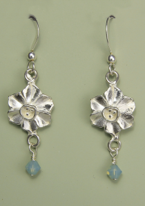 Narcissus Earrings December Flower