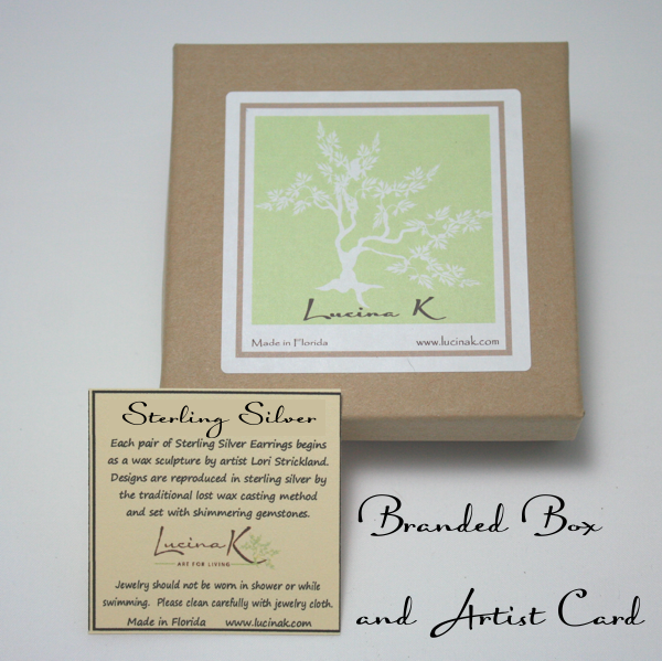 Sterling Silver Jewelry Packaging