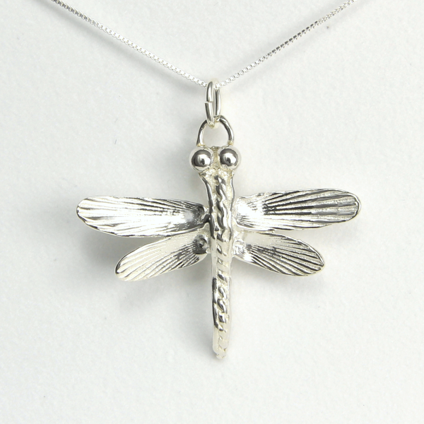 Dragonfly Necklace Strength and Victory