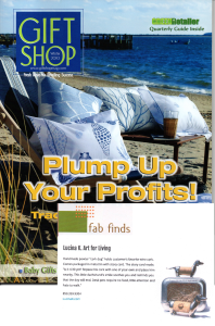 Press /Featured Work - Lucina K. Cork Dog Editor's Fab Find in Gift Shop Magazine