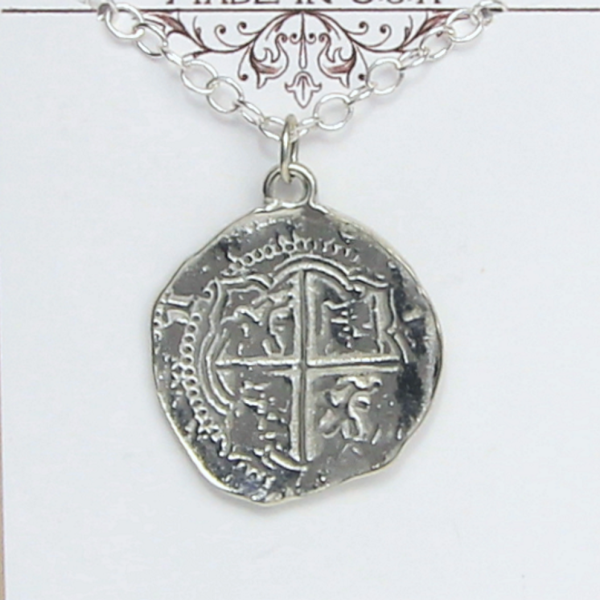 Pieces of Eight Coin Necklace