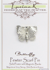 Butterfly Magnetic Scarf Pin
