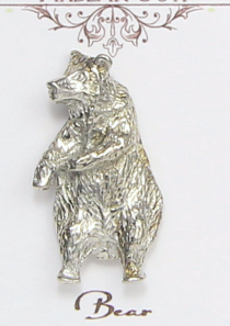 Bear Magnetic Scarf Pin